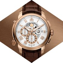 Lebeau-Courally Rose gold 43mm Automatic LC02-11-C3-D07 new