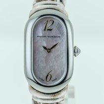David Yurman T408 Women's Sterling Silver Bracelet Quartz,...