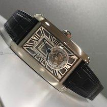 Cartier - Anglaise Tank W2620007 Tourbillion Skeleton Dial WG