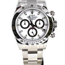 Rolex Daytona Cosmograph Stainless Steel white 116520