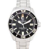 Deep Blue Dive Watch Daynight Scuba T100 Black Dial Blue...