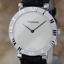 Tiffany & Co Atlas Swiss Made 31mm Luxury Solid Silver...