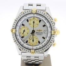 Breitling Chronomat 39mm Steel M.O.P Dial (B&P2010) MINT