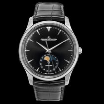 Jaeger-LeCoultre Master Ultra Thin Moon Steel Black United States of America, California, San Mateo