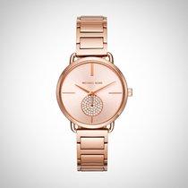 Michael Kors MK3640 Portia Ladies Rose Gold Tone Watch