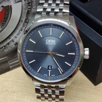Oris Artix Date Steel 42mm Blue