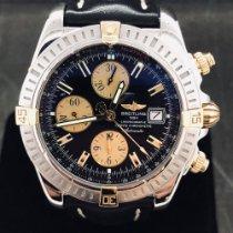 Breitling Chronomat Evolution Or/Acier 44mm Noir Sans chiffres Belgique, Antwerpen