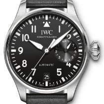 IWC new Automatic Center Seconds Power Reserve Display Screw-Down Crown 46.2mm Steel Sapphire Glass
