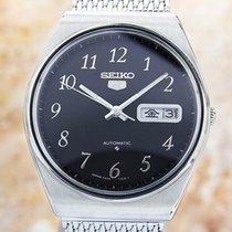 Seiko 5 Steel 37mm Black United States of America, California, Beverly Hills