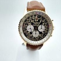 Breitling Navitimer Cosmonaute usato 41,5mm Blu Cronografo Tachimetro Pelle