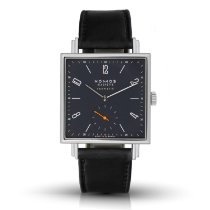 NOMOS Tetra Neomatik pre-owned 33mm Blue Leather