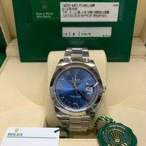 Rolex Datejust Steel 41mm Blue Roman numerals Malaysia, SELANGOR