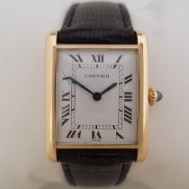 Cartier Tank Louis Cartier Yellow gold 23mm White Arabic numerals