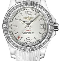 Breitling Colt Lady Staal 33mm Zilver Arabisch