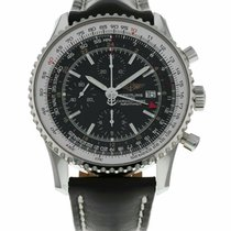 Breitling Navitimer World Steel 46mm Black United States of America, Florida, Sarasota