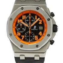 Audemars Piguet Royal Oak Offshore Chronograph Volcano Stal 42mm Czarny Arabskie