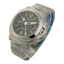 Panerai PAM00297 PAM 297 - Luminor GMT in Steel - on Steel...