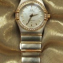 Omega 12777000 Goud/Staal 1999 Constellation Ladies tweedehands