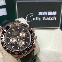 Rolex Cally - Daytona 116515LN Chocolate Black Dial (皮帶) 黑面 [NEW]