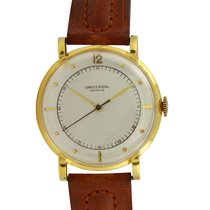 Universal Genève Yellow gold 35mm Manual winding 107161 pre-owned United States of America, California, Los Angeles
