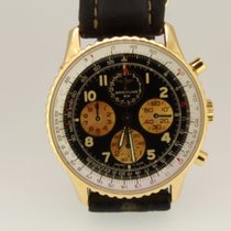 Breitling Red gold Automatic Black Arabic numerals 38mm pre-owned Navitimer