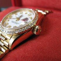 Rolex Ladies President – Diamond Dial And Bezel - B&P's