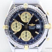 Breitling Chronomat GT Chronograph Blue Dial Datum Schnellscha...