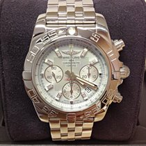Breitling Chronomat 44 AB0110 - Diamond Set - Box & Papers...