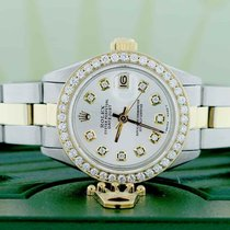 Rolex Datejust Ladies 2-Tone 18K Gold/Steel 26MM Oyster...