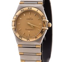 Omega Constellation Lady 25mm Gold Steel