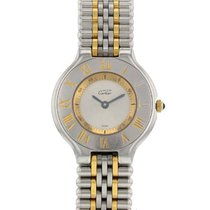 Cartier 21 Must de Cartier 28mm Silver Roman numerals United States of America, New York, New York