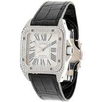 Cartier Santos 100 Medium Diamonds
