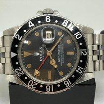 롤렉스 GMT-Master 스틸 40mm 검정색 숫자없음