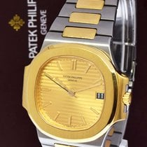 Patek Philippe 3800 Nautilus 18k Gold & Steel Mens Watch...
