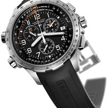 Hamilton Khaki X-Wind H77912335 HAMILTON KHAKI AVIATION Acciaio Nero 46mm 2020 nouveau