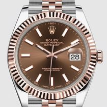 Rolex Datejust 41mm Chocolate Dial