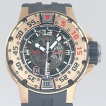 Richard Mille RM 028 pre-owned 47mm Transparent Date Rubber