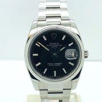 Rolex Date 115200 Black Dial
