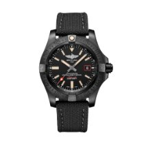 Breitling Avenger Blackbird 44 Titanium 44mm Black No numerals United States of America, New York, New York