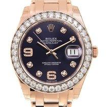 勞力士 Lady Oyster Perpetual 18 K Rose Gold With Diamonds Deep...
