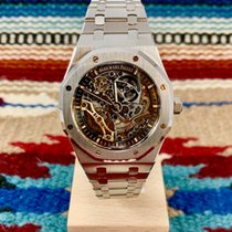 Audemars Piguet Royal Oak Double Balance Wheel Openworked nuevo 41mm Acero