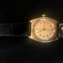 Rolex Bubble Back pre-owned 30mm Gold/Steel