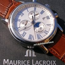Maurice Lacroix Les Classiques Phases de Lune tweedehands 40mm Staal