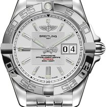 Breitling Galactic 41 Steel 41mm Silver United States of America, California, Moorpark