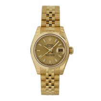 Rolex Lady-Datejust Yellow gold 26mm Champagne No numerals United States of America, New York, New York