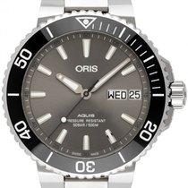 Oris Hammerhead Limited Edition Acier 45.5mm Gris