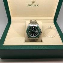Rolex Submariner Date Steel 40mm Green No numerals United Kingdom, Leicester