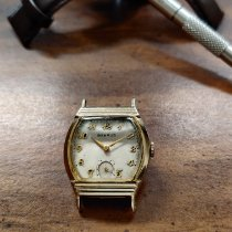 Benrus Yellow gold 29mm Manual winding CW 12 pre-owned United States of America, Pennsylvania, Greensburg