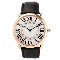 Cartier Oro rosado 42mm Cuerda manual 3570 133100SX usados