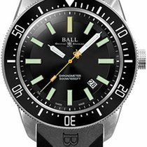 Ball Engineer Master II Skindiver Zeljezo 44mm Crn